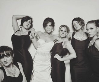 Wedding Photo Booths: Rentals For Michigan Weddings & Bridal Shower | FotoBomb - bridesmaids