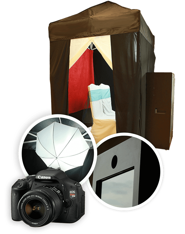 Enclosed Photo Booth Rentals In Michigan | Our #1 Choice  - fbenclosed-booth